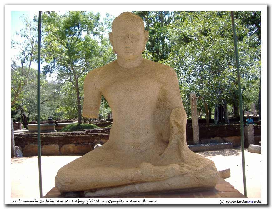 2nd Samadhi at Abayagiri Aramic Complex