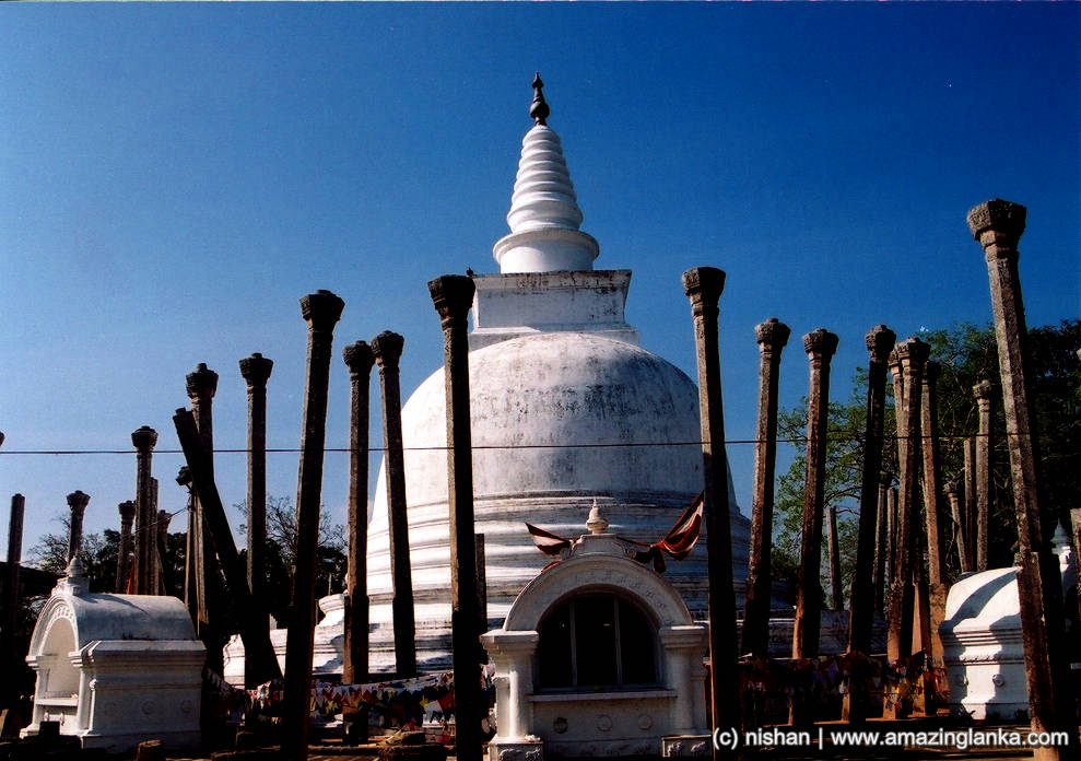Thuparama Stupa and the Vatadage