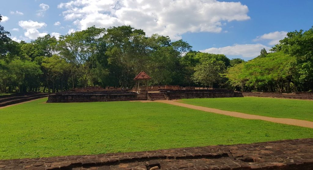 Ruins of the Palace Complex of Panduwasnuwara kingdom