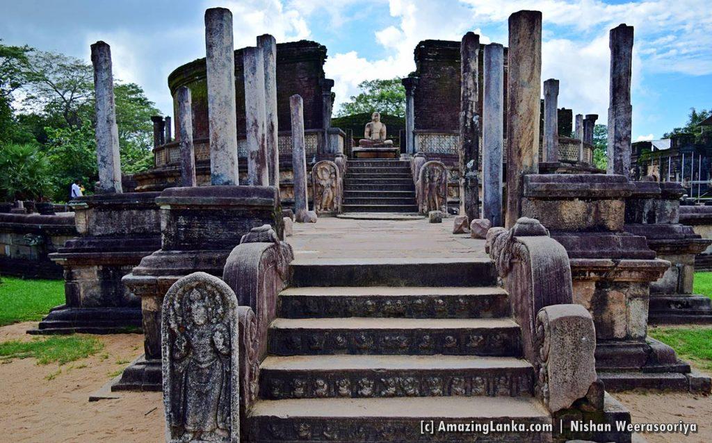 Polonnaruwa Vatadage (The Stupa House)