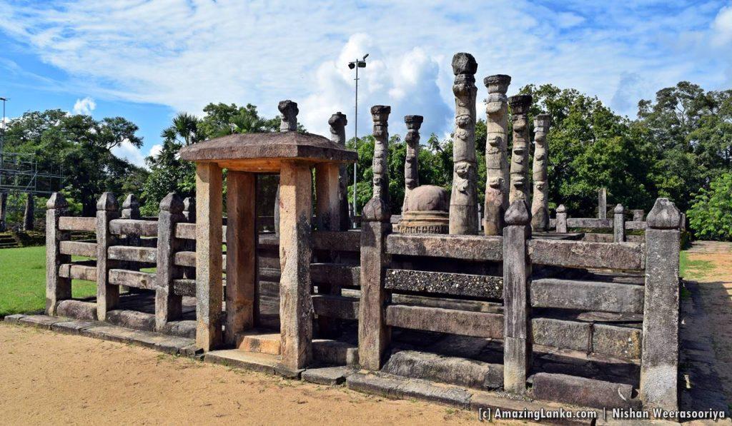 Nissanka Latha Mandapaya  of the Polonnaruwa Ancient Kingdom