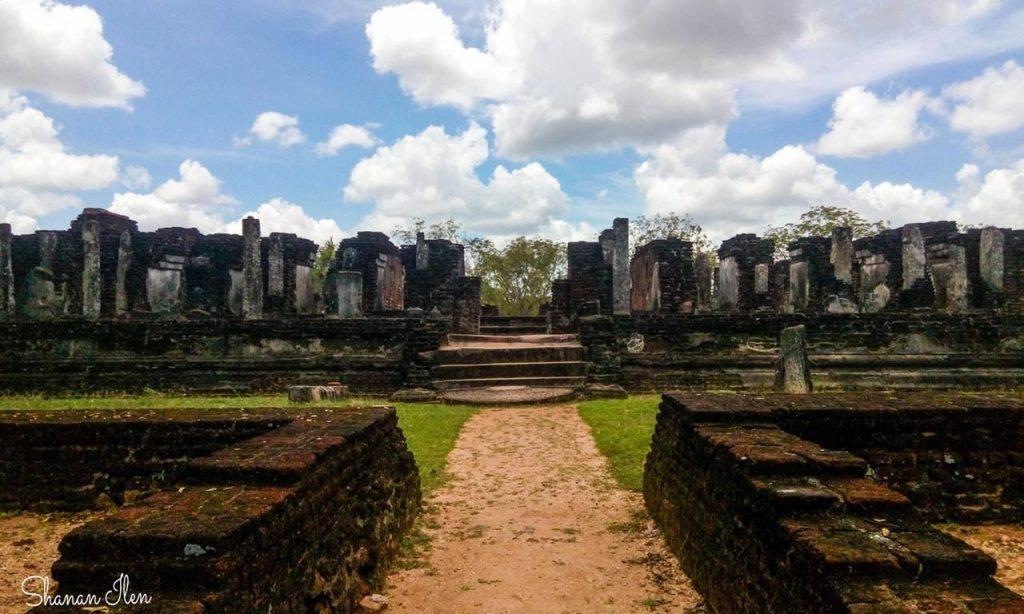 Ruins of the Alahana Pirivena Complex