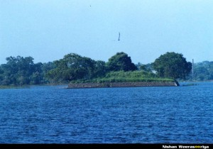 An Island used by the royals during the Pollonnaruwa Era