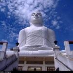 Buddha Statue at the top of the mountain