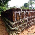 Tomb of Alakeshwara - remains of 2 rectangular kabook brick structures
