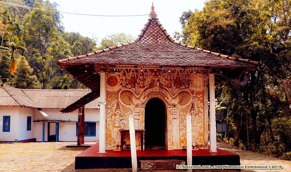 Second image house was built in later stages but might be belong to Kandyan era. - Pusulpitiya Rajamaha Viharaya