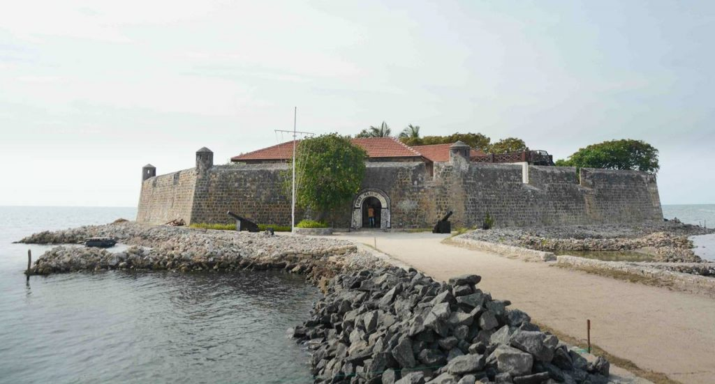 Hammenhiel Fort in Jaffna