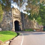 Entrance to the Fort Fredrick at Trincomalee