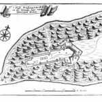 "A Diagram of Fort Ostenburg in Trincomalee from ""Illustrations and views of Dutch Ceylon, 1602-1796"" by Rajpal Kumar De Silva, Willemina G. M. Beumer"