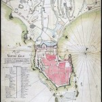 17th Century Map of the fort at Galle 1790
