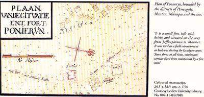 map of Pooneryn fort