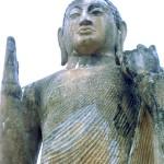 Maligawila - Maligawila Buddha Statue and and Dambegoda Bodhisattva Statue