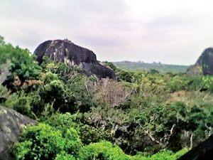 Ruins of Bambaragasthalawa Naga Pabbata Monastery - Kumana