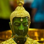 Glorious jade buddha from China