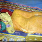 Buddha Statues in the 'Meda Vihara Ge' - Mutiyangana Raja Maha Viharaya