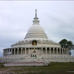 Japanese Peace Pagoda in Ampara