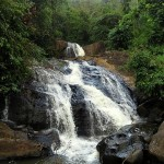 Upper part of Minimaru ella / Dodawatta Ella Falls in Deraniyagala