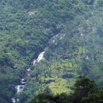 Galdola Ella Falls can be properly only seen from the Rakwana Town or Just passing the Rakwana