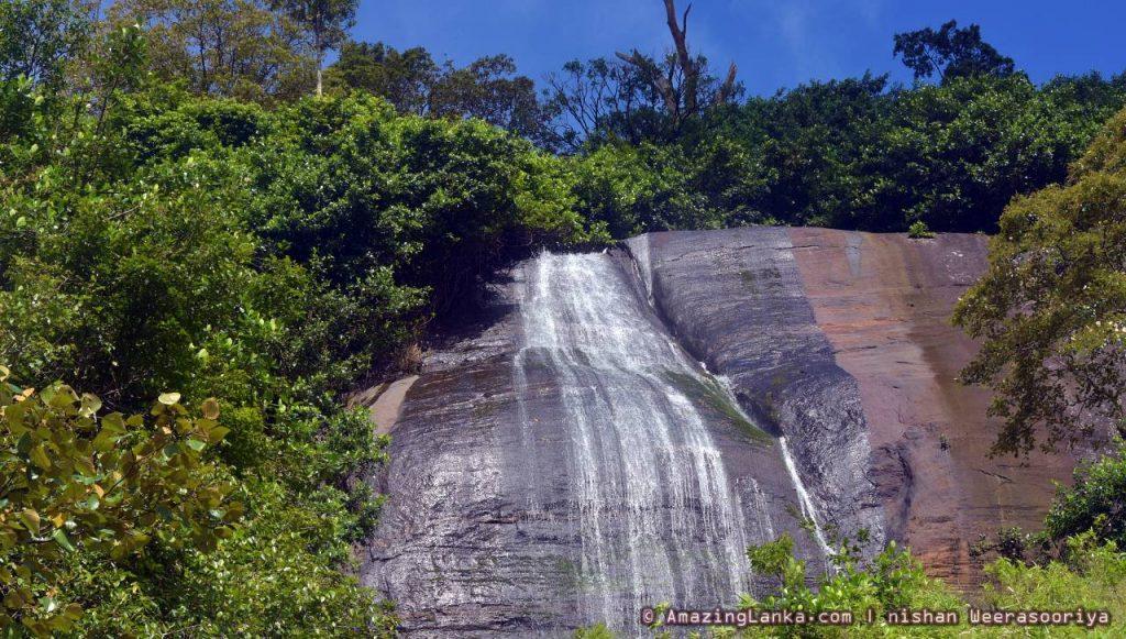 Upper Segment of Diyathiri Ella Waterfall
