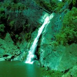 Dunhinda Ella (Bridal Falls) in the dry season