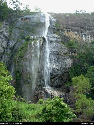 Diyaluma Ella Falls