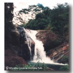 Goxin Falls at Ratnapura