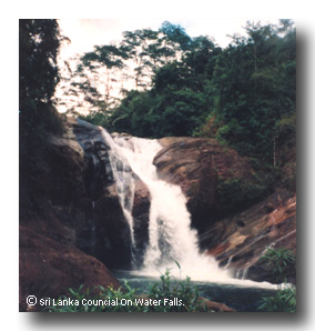Goxin Falls at Ratnapura