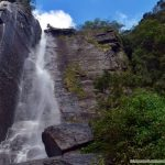 Lovers Leap Waterfall in Nuwara Eliya