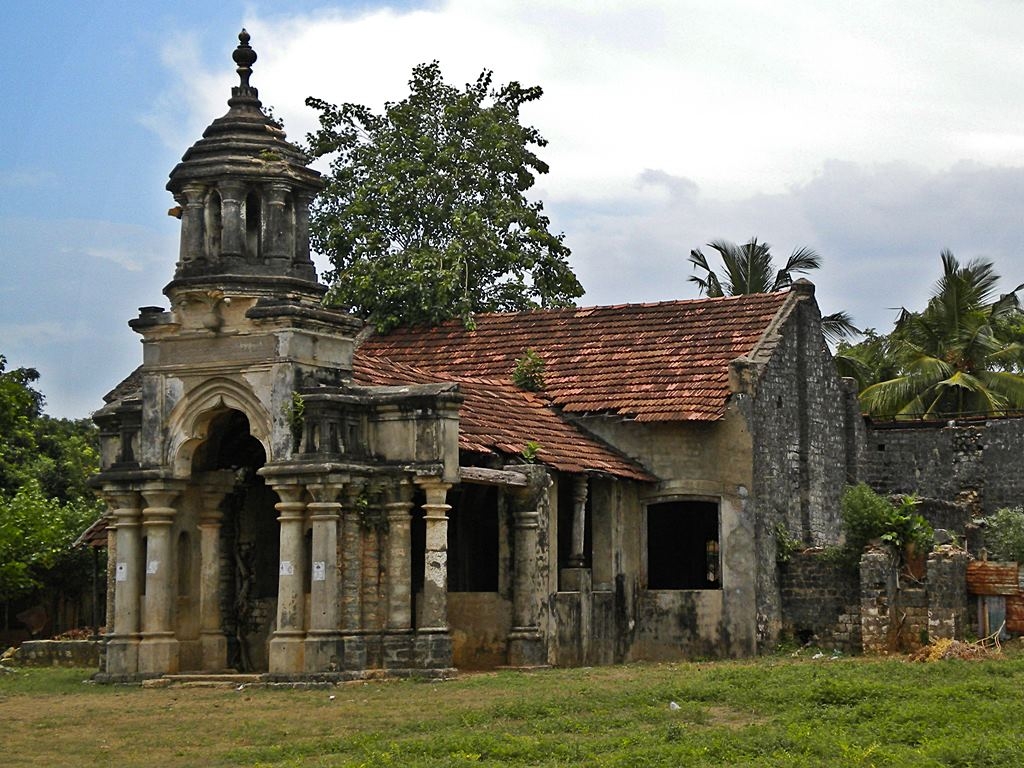 Manthiri Manai Mansion in Jaffna