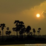 Sunset over the Jaffna Lagoons