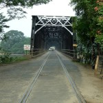 The Road-Rail Bridge of Manampitiya seen from the Dimbulagala side