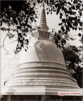 Trincomalee - Uppaveli Stupa