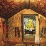 The Cave Temple paintings at Gampaha Asgiriya Raja Maha Viharaya