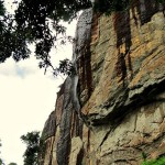 Dripping Rock at Halgolla Tea Estate