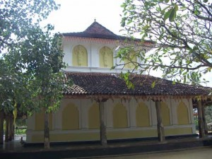 The image house built by King Parakramabahu IV of Kotte Kingdom