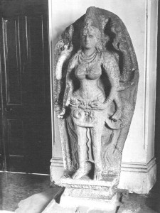 A caving of Godness Kali discovered in VijayaramaA caving of Godness Kali discovered in Vijayarama