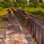 Rambakan Oya Ruins of Ancient Granite Canal
