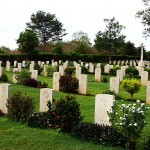 World War II British War Cemetery at Trincomalee