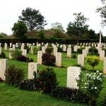 World War II British War Cemetery at Trincomalee