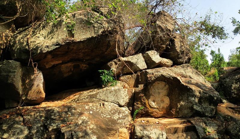 The five hooded cobra at Nagathambarani