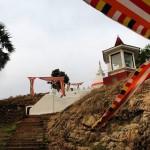 The new Gokanna Viharaya at Trincomalee