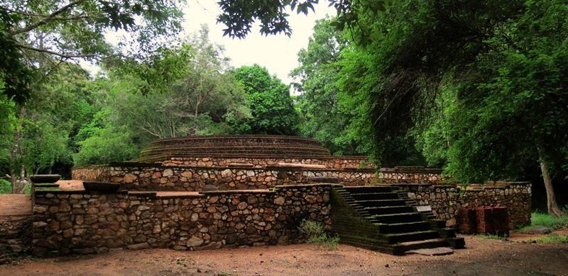 Ruins of Rangiri Ulpotha Rajamaha Viharaya