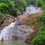 The lower Watawala Falls