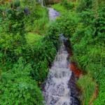 Radella Rail Bridge Waterfall