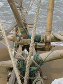 Manila rope and nylon cordage