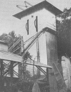 Kahatagaha shaft of Kahatagaha Kollangala Mine