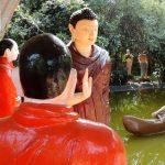 Statues of Kokkichchiya Siri Sambuddha Prathiharya Viharaya