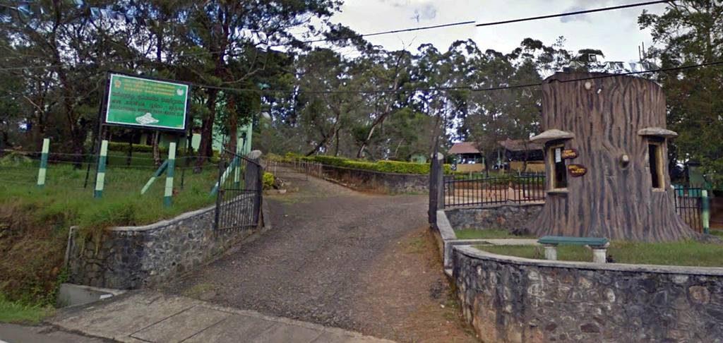 Entrance to the Kande Ela Forest Park