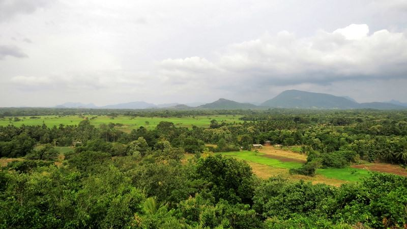 View from the top - Yahangala