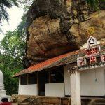 The main shrine of Sri Nilagiri Purana Rajamaha Viharaya